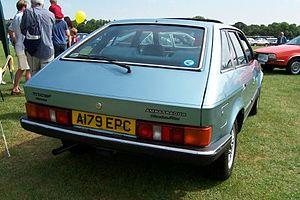 Austin Ambassador - Rear view, showing rear door