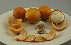 Australian grown Achacha fruits and seeds-2 (Garcinia humilis).jpg