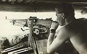 Australian soldier Borneo