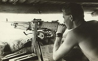 Richard Hull - An Australian soldier in action during the Indonesia–Malaysia confrontation.