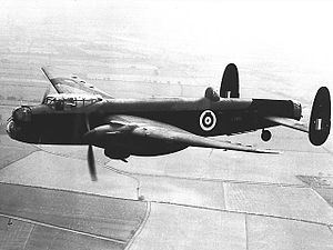 Avro Manchester - Avro Manchester Mk.1A (note extended tail fins)