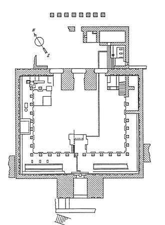 Awwam - Peristyle hall plan
