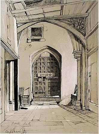 Miles Edmund Cotman - Aylsham Church (undated lithograph), Norfolk Museums Collections