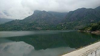 Pollachi - Azhiyar dam and Western Ghats near Pollachi