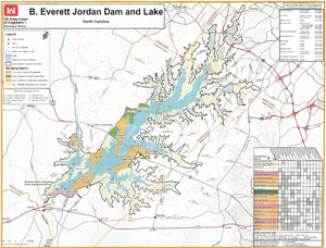 Jordan Lake - Jordan Lake offers a variety of facilities for recreation, conservation, and flood control.