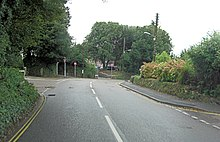 B3302 Mellanear Road junction with Trelissick Road - geograph.org.uk - 3189884.jpg