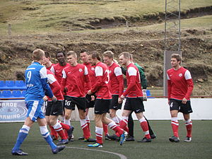 B68 Toftir - B68 Toftir players in 2012.
