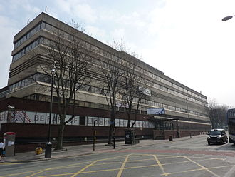BBC Manchester - New Broadcasting House, home of BBC Manchester from 1975 until 2011