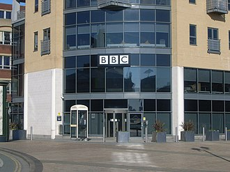 Arrogance Ignorance and Greed - The duo made numerous appearances on local BBC Radio stations across the country to promote the album (BBC Radio office pictured.)