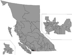 Chilliwack (electoral district) - Image: BC 2015 Chilliwack