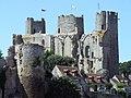 Burg in Bourbon-l'Archambault