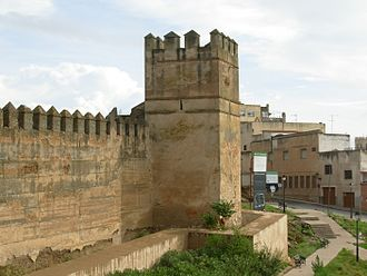 51st (2nd Yorkshire West Riding) Regiment of Foot - The Hangman's Tower at Badajoz, the objective of the siege by men from the regiment, led by Ensign Joseph Dyas, in summer 1811