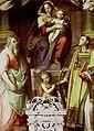 Badia di san salvatore, Madonna col Bambino e Santi (1586) di Giovanni Maria Butteri.jpg