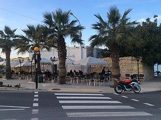 Baħar iċ-Ċagħaq Redoubt - Image: Bahar ic Caghaq Redoubt used as restaurant