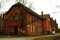 Bahnausbesserungswerk Gebäude 56 gleisseitig Leinhausen Park Einbecker Straße 1a Hannover.jpg