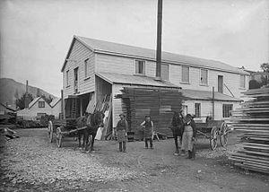 Edward Baigent - Baigent's Timber Yard