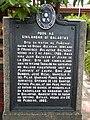Balagtas birth place historical marker in Panginay, Balagtas, Bulacan.jpg