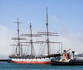 <i>Balclutha</i> (1886) Steel-hulled full rigged ship that was built in 1886