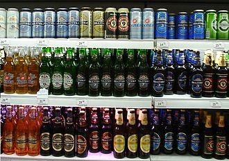 Baltika Breweries - Many varieties of Baltika are commonly available in Russia
