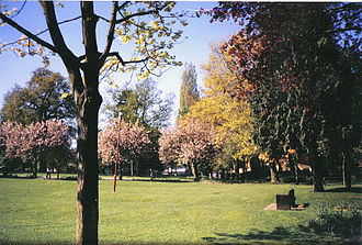 Banbury - Peoples' Park in 2001