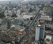 Blick vom Baiyoke Tower II