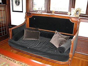 banquette wikip dia. Black Bedroom Furniture Sets. Home Design Ideas