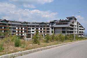 Bansko - Abandoned hotels / apartments in Bansko