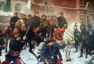 Louis Faidherbe - Painting by Charles Édouard Armand-Dumaresq showing Faidherbe at the Battle of Bapaume.