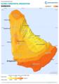 Barbados GHI Solar-resource-map GlobalSolarAtlas World-Bank-Esmap-Solargis.png