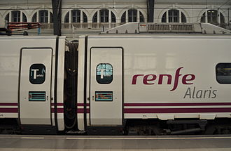 Alaris - RENFE Class 490 in Barcelona França railway station.
