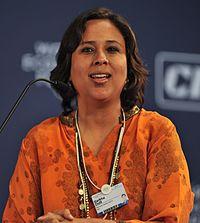 Barkha Dutt World Economic Forum Nov 2010.jpg