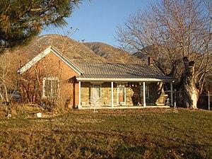 Centerville, Utah - Image: Barnard House Centerville Utah
