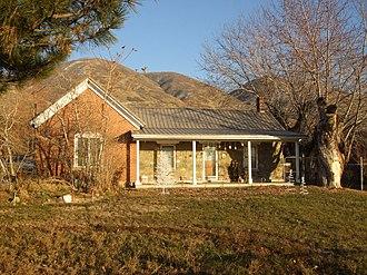 National Register of Historic Places listings in Davis County, Utah - Image: Barnard House Centerville Utah
