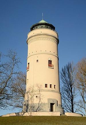Watertower Bruderholz in Basel, Switzerland