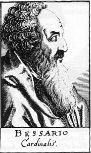 Basilius Bessarion of Trapezunt