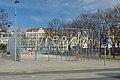Basketball cage & freedom, Gaudenzdorfer Gürtel, Vienna 03.jpg