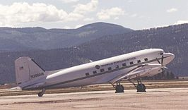 Basler BT-67 (DC-3) at Missoula, Montana.jpg