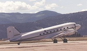 Basler BT-67 - Basler BT-67 conversion No.1, N200AN of World Air Logistics, at Missoula Montana in 2000