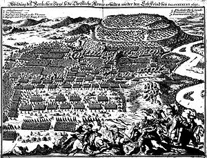 Battle of Slankamen - Image: Battle of Slankamen