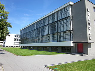Bauhaus and its Sites in Weimar, Dessau and Bernau Joint World Heritage Site, comprising six separate sites associated with Bauhaus art school. Designated in 1996, extended 2017.