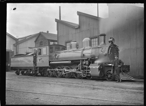 Bb class 4-8-0 steam locomotive, New Zealand Railways number 619 ATLIB 276055.png
