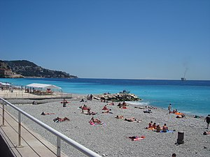 Promenade des Anglais - The beachfront