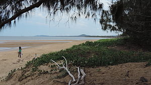 Tannum Sands, Queensland - Beach at Tannum Sands, 2014