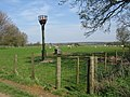 Beacon in a sheep field, Elmsted - geograph.org.uk - 1245913.jpg