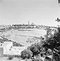 Bebouwing en begroeiing rondom Jeruzalem, Bestanddeelnr 255-2305.jpg