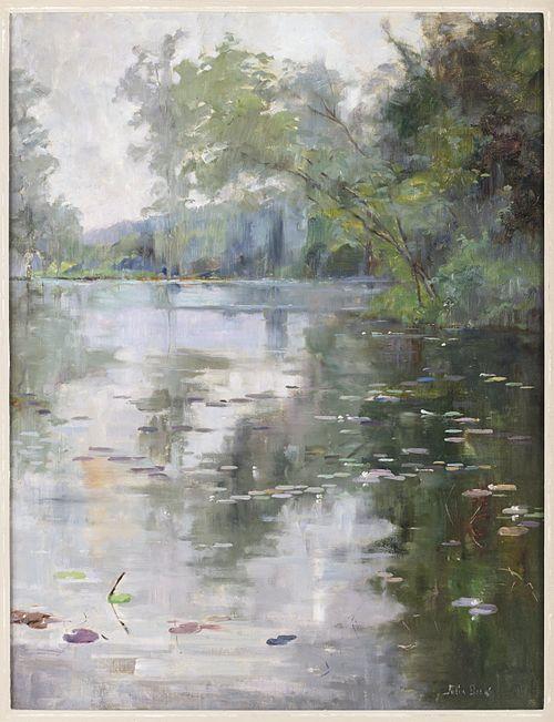 BECK Julia Nénuphars 1887-88(?)