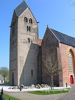St. Walfriduskerk Church in Groningen , Netherlands