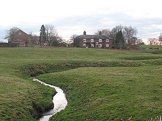 Bradwall village in the United Kingdom