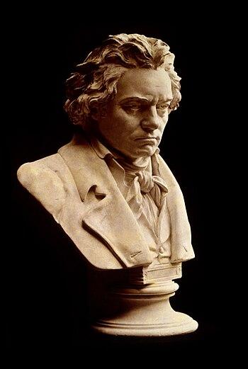 Buste de Ludwig van Beethoven par Hugo Hagen.