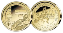 Belgian coin of 50 euro Deep sea exploration.PNG